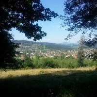 Ausblick auf Frauenau im Bayerischen Wald