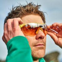 Sportbrille beim Wandern