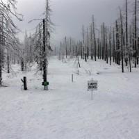 Aufstieg Dreiländereck Winter