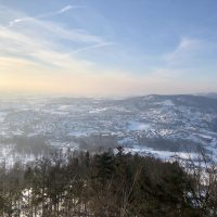 Staffelberg Panorama Winter
