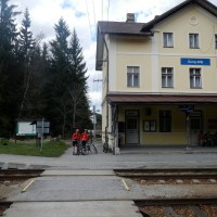 Bahnhof Cerny Kriz / Eisernes Kreuz