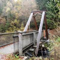 Brücke Trinkwassersperre Frauenau