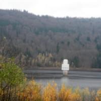 Turm der Trinkwassersperre in Frauenau