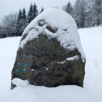 Haidel und 2 verlassene Dörfer im Schnee