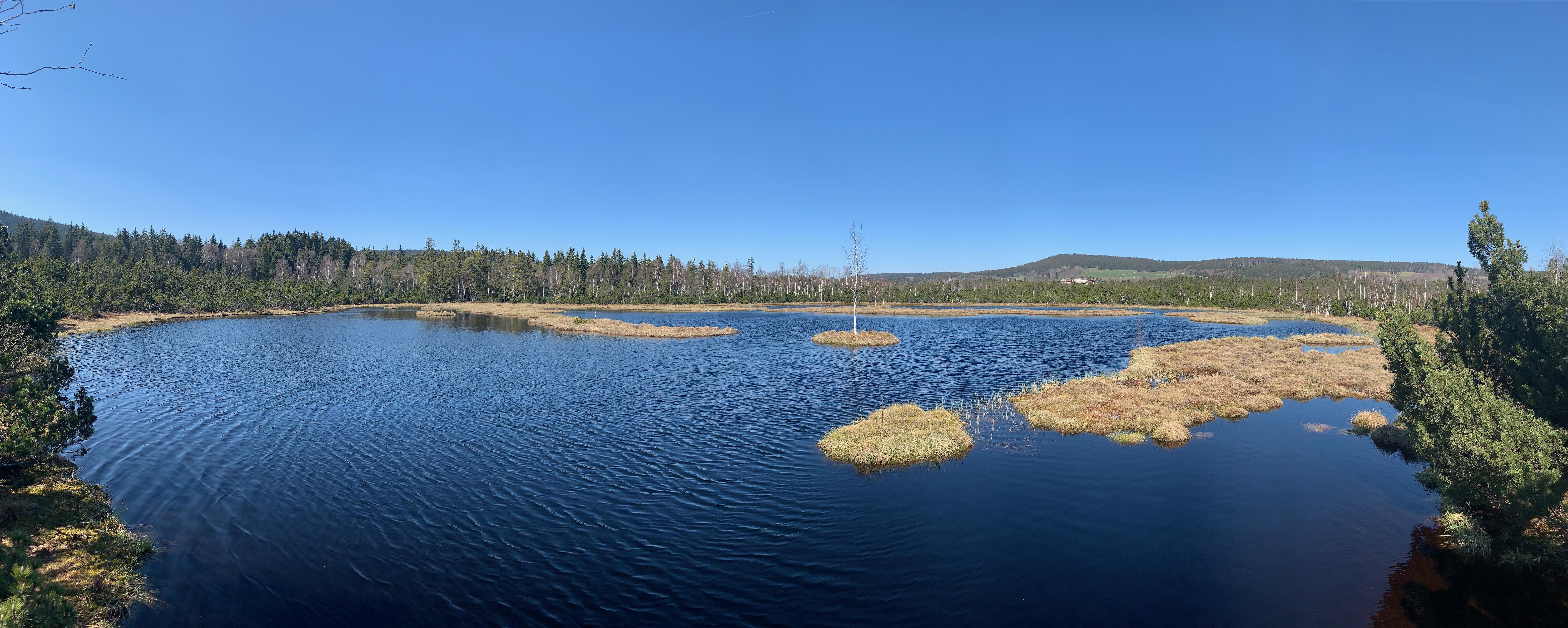 Moorsee in Tschechien