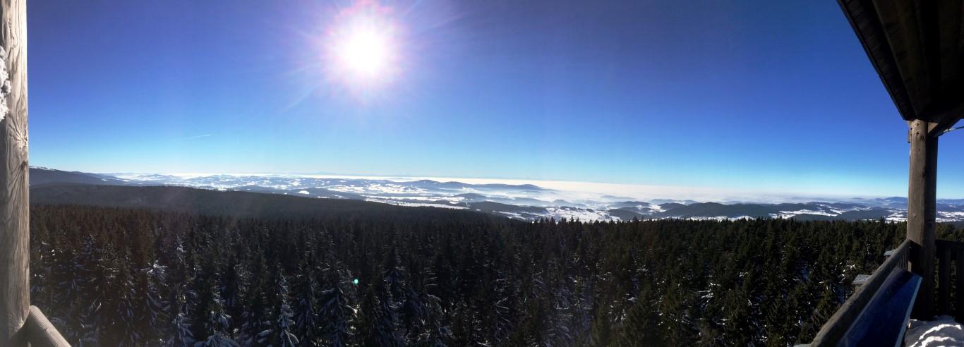 Ausblick Panorama Haidel