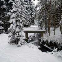Schwemmkanal Schneeschuhtour