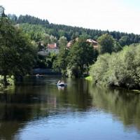 Moldau bei Vssy Brod