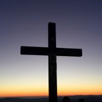 Lusen Gipfel Kreuz