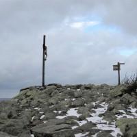 Lusen Gipfelkreuz