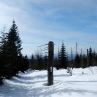Lusen Aufstieg Winter