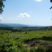 Ausblick über die Sumava