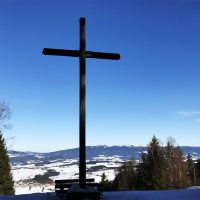 Winter am Oberfrauenwald