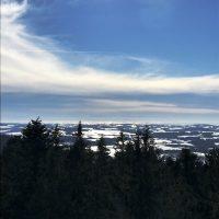Schneeschuh Oberfrauenwald Aussichtsturm