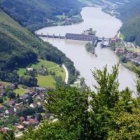 Ausblick auf die Donau vom Penzenstein