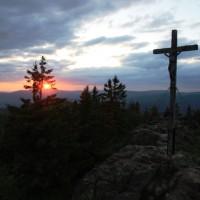 Rachel Gipfel Sonnenuntergang