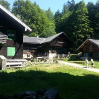 Racheldiensthütte im Nationalpark Bayerischer Wald