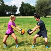 Seitliche Bauchmusklen Bewegungsablauf
