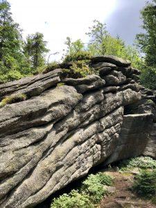 Granitformationen