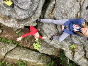 Felsen aus Granit