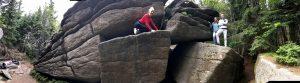 Granitfelsen am Bärensteig