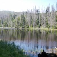Jezero Laka in Tschechien