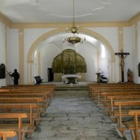 Glasaltar in der Kirche Dobra Voda