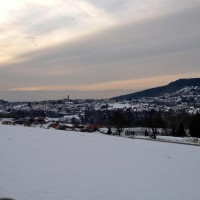 Blick Hauzenberg Winter