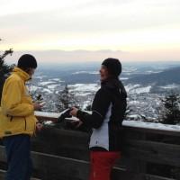 Aussichtsturm Staffelberg Winter