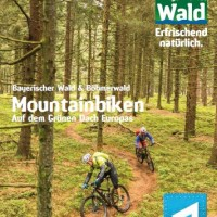 Broschüre: Mountainbiken auf dem grünen Dach Europas