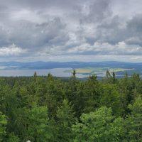 Moldaustausee Panorama