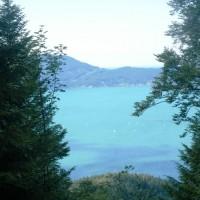 Panorama Aussicht auf den Walchensee