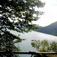 Walchensee tiefster See im Bayern