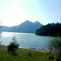 Panorama Blick Walchensee